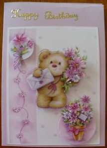 Paper Tole Card