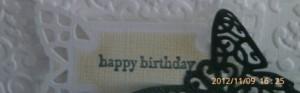 Mum's Birthday 2012