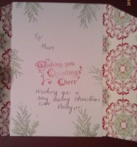 Mum Christmas 2012
