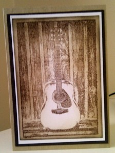 Darkroom Door Guitar