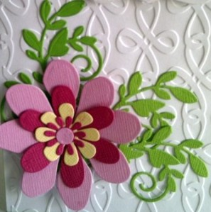 Fancy That Leafy Vine Elizabeth Craft Flower Set Three