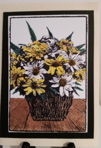 Darkroom Door Flower Basket
