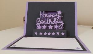 Elizabeth Craft Happy Birthday Popup