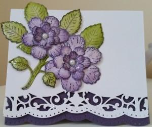 Heartfelt Creations Botanical Rose