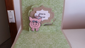 Elizabeth Craft Lorna Label Pop-up Virgil the Pig