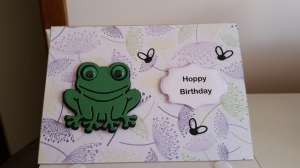 Elizabeth Craft Hoppy the Frog