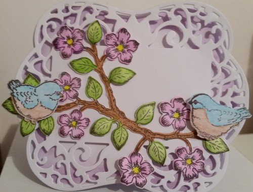 Spellbinders Labels 54 Heartfelt Creations Birds and Blooms