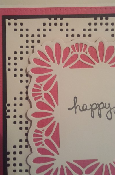 Sue Wilson: Background Collection - Diamond Squares Frames and Tags Collection - Samantha