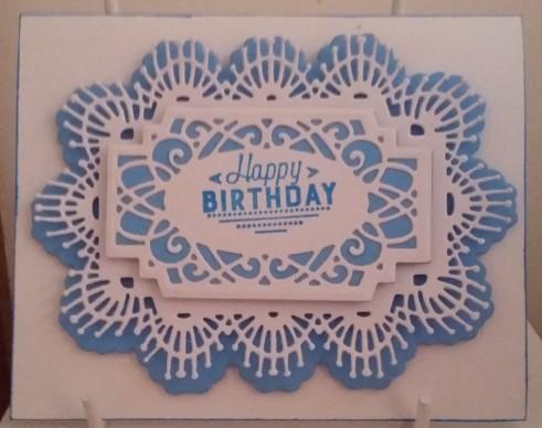 Sue Wilson Caribbean Island St Lucia Heartfelt Creations Special Birthday Sentiments