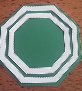 Sue Wilson Double Stitched Octagon